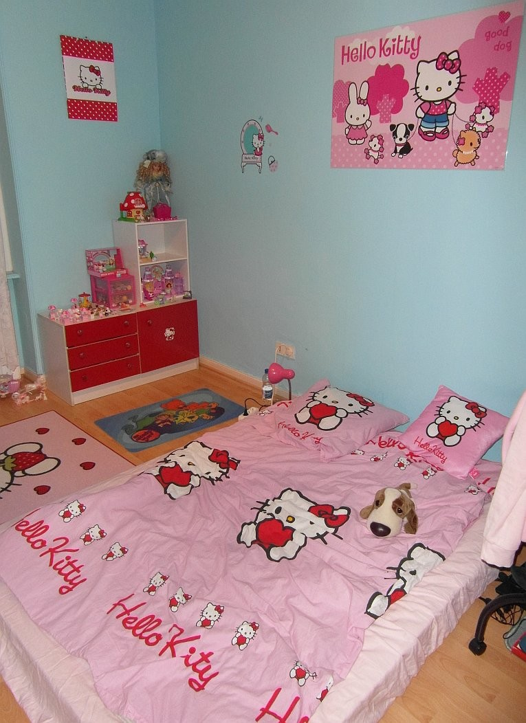 Ma chambre Hello Kitty